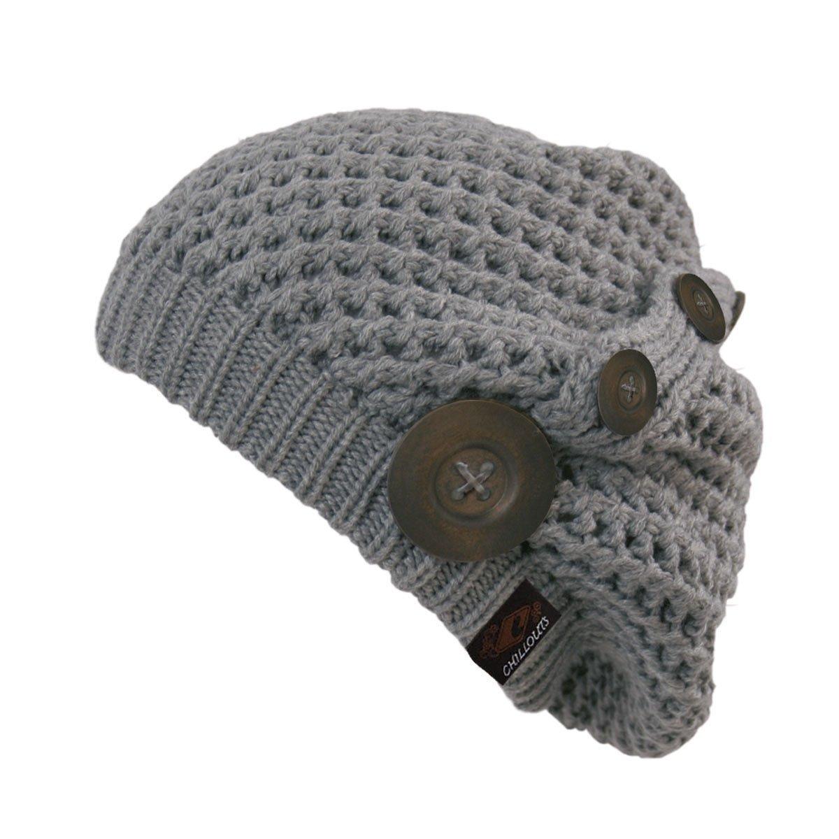 Cappello Invernale Donna, Grigio (Grey), Taglia Unica