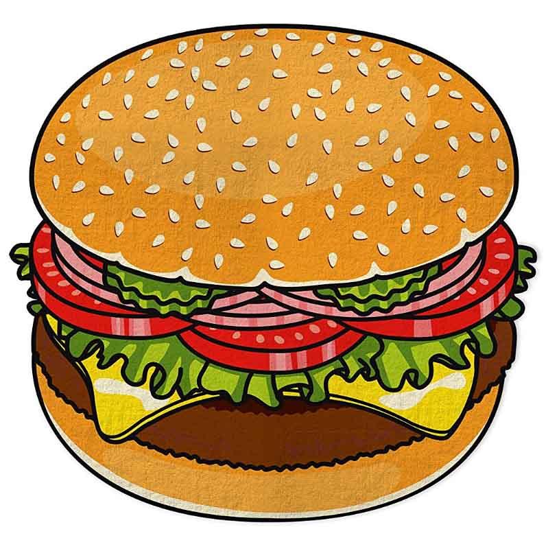 Burger Telo Mare 152x152x1 Cm