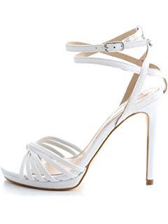 Sandali Con Tacco Alto E Cinturino Alla Caviglia Donna 40