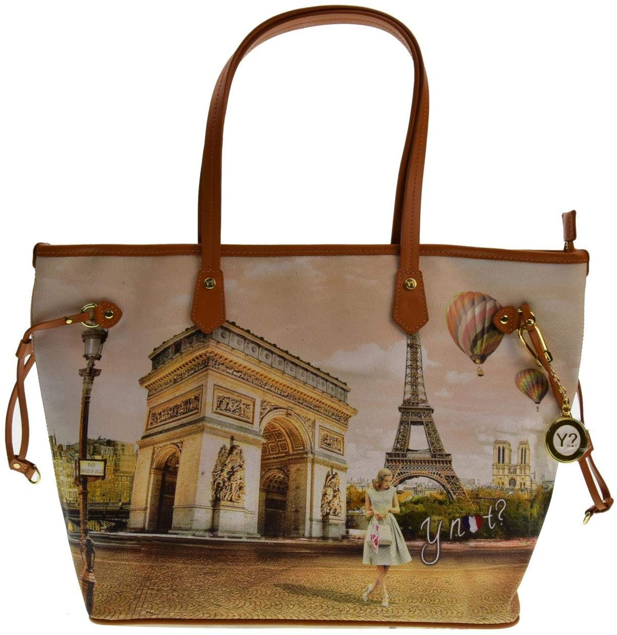 Borsa Donna YNOT Shopping Bag Paris
