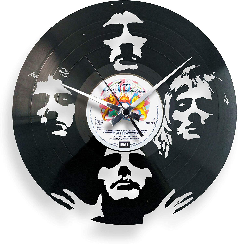Orologio In Vinile Da Parete Queen Bohemian Rhapsody