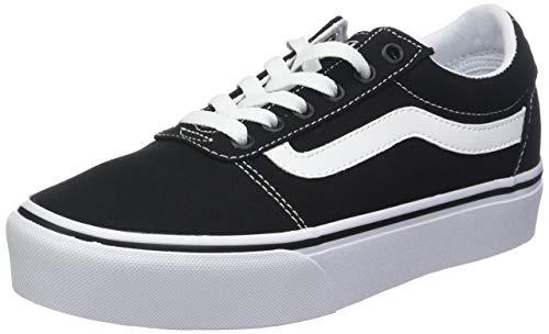 Scarpe Vans Ward Platform Canvas, Sneaker Donna