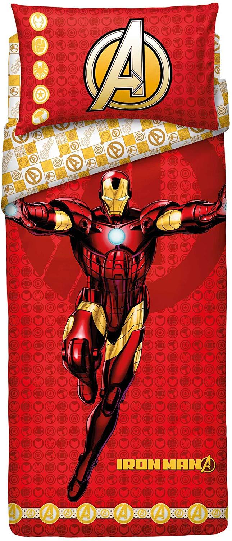 Copripiumone Bassetti Singolo Iron Man Completo