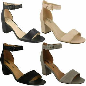 Sandali Con Tacco E Cinturino Alla Caviglia Donna