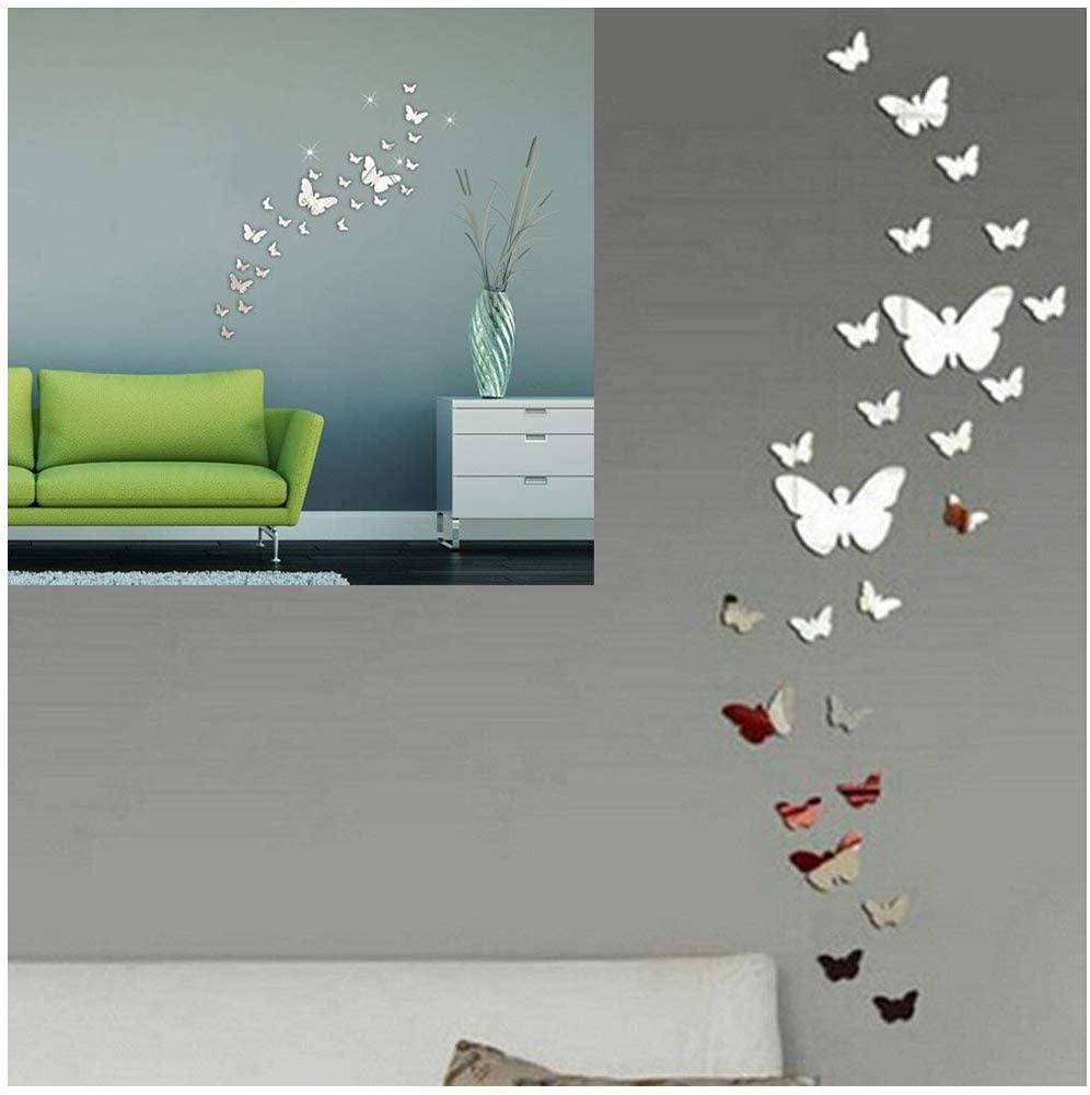 Specchio Farfalla Adesivo Combinazione 3D
