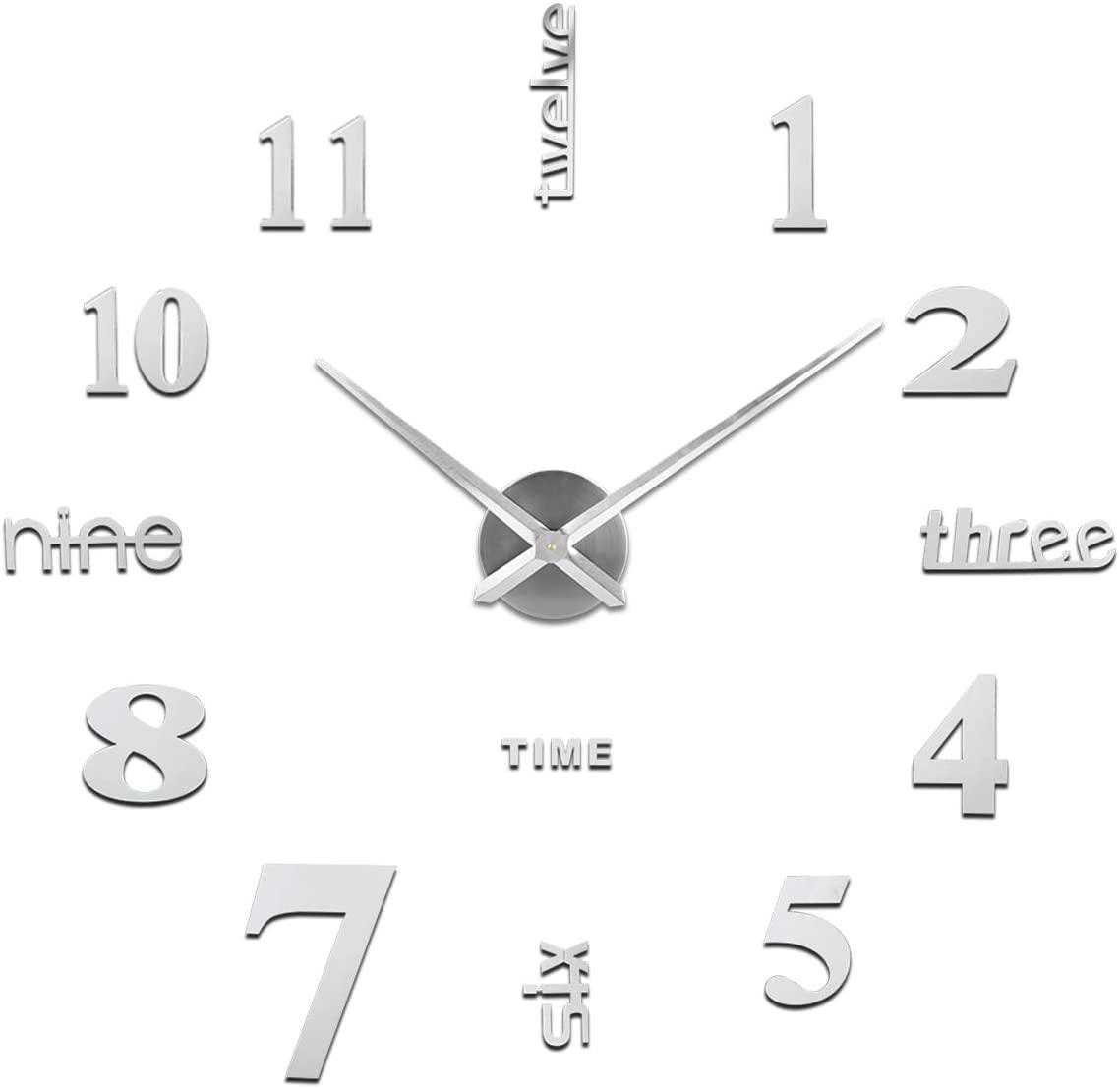 Orologio Da Parete Fai-Da-Te, Facile Da Montare