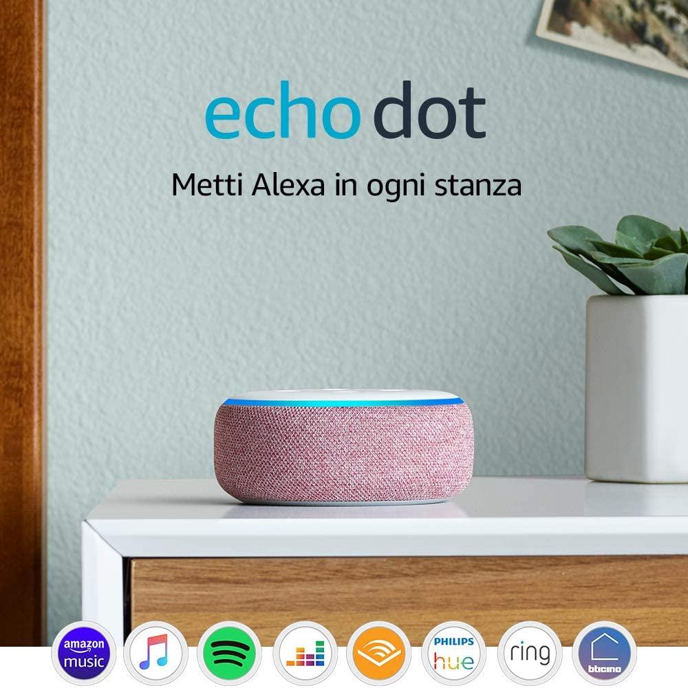 Altoparlante Intelligente Con Integrazione Alexa