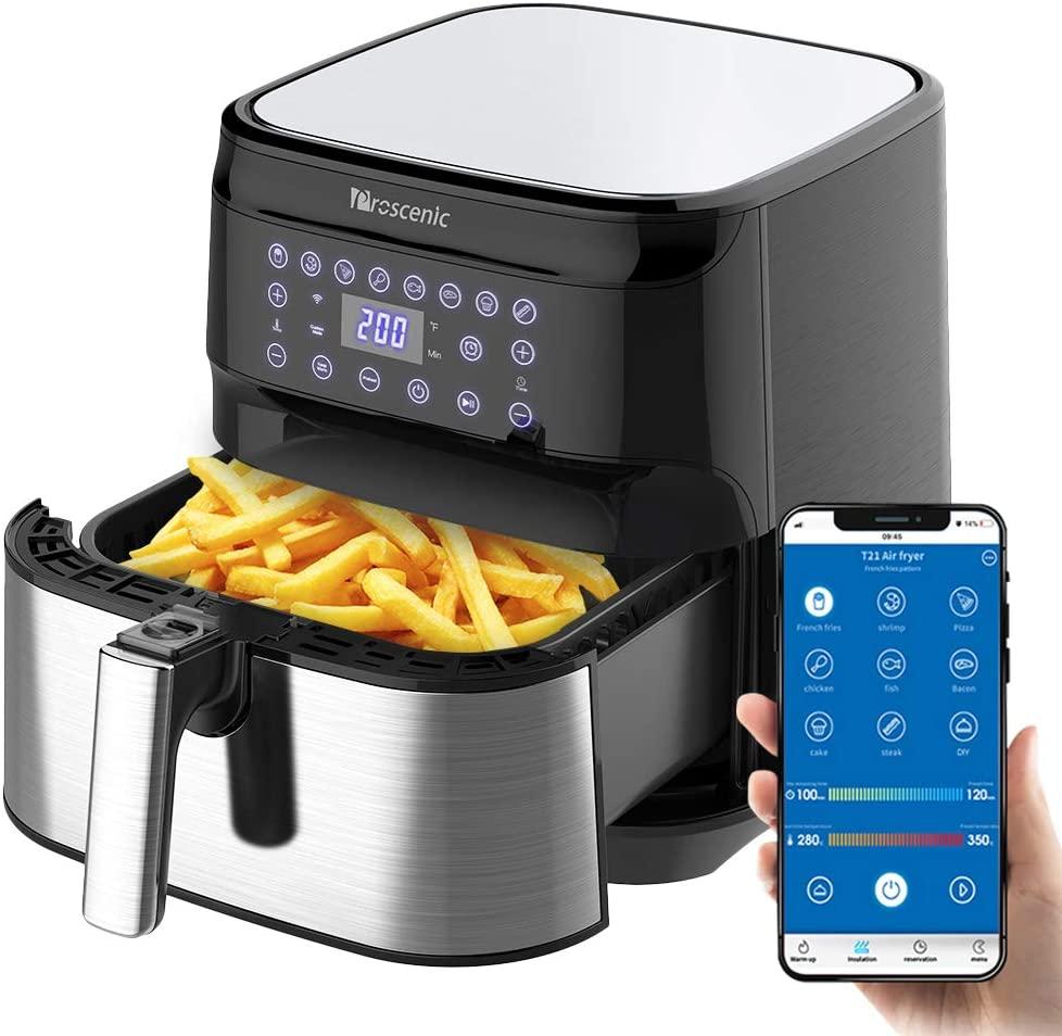 Friggitrice Ad Aria Controllo Con App & Alexa