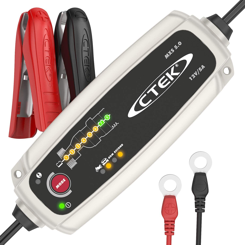 Caricabatterie Automatico (Carica, Mantiene E Ripristina Batterie Da Auto E Moto)