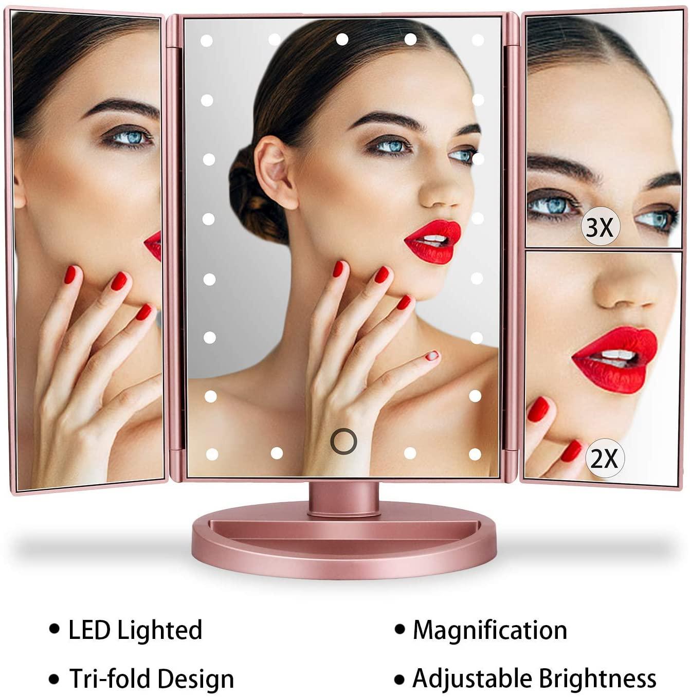 Specchio Trucco Con Luci A LED
