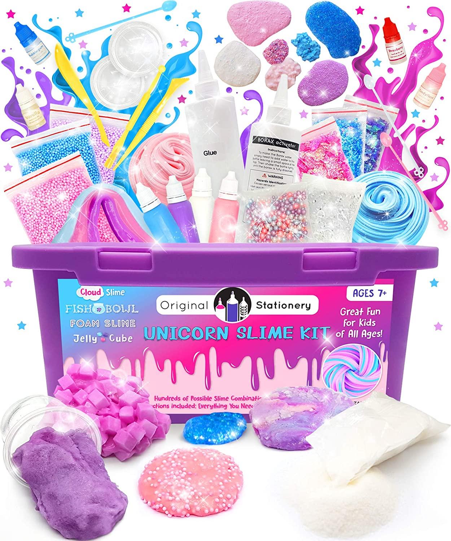Laboratorio Slime Unicorno Per Bambine