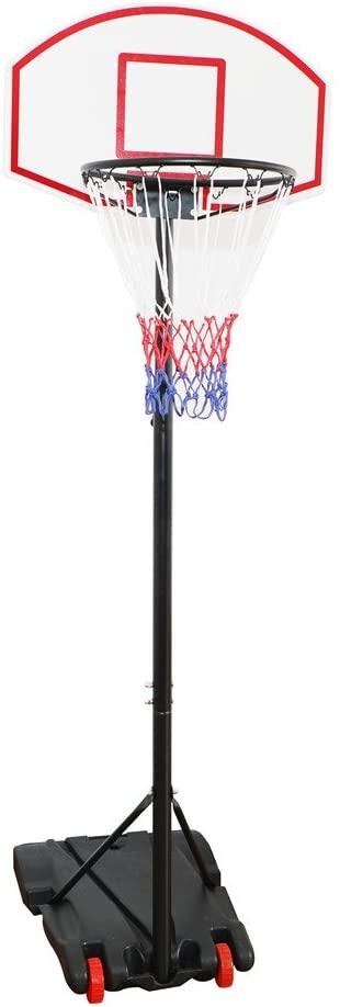 Canestro Basket Regolabile Su Ruote