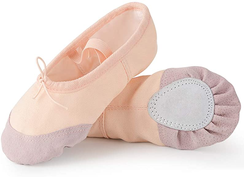 Scarpette Da Danza Classica Tela Scarpe Da Ballerina