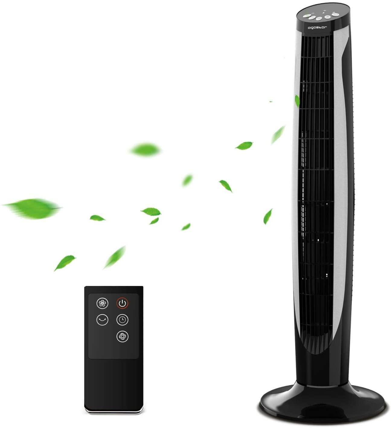Ventilatore Altezza 91cm Con Timer E Telecomando