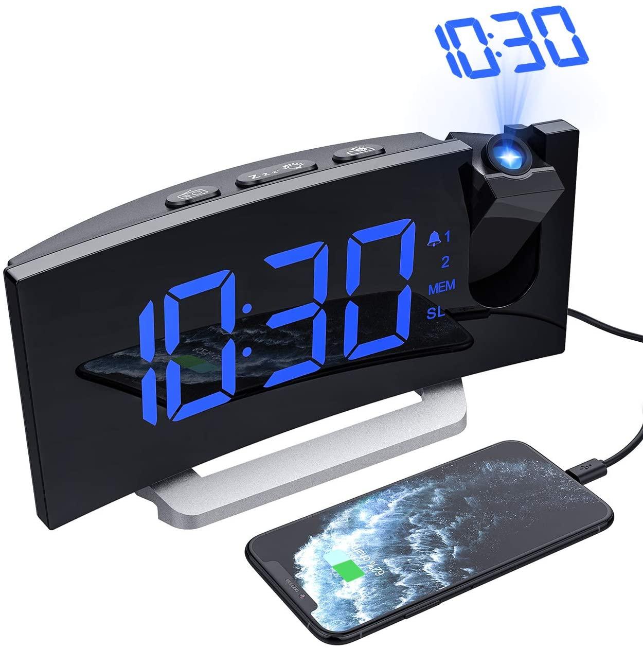 Radiosveglia Digitale Con Proiettore
