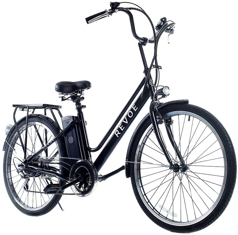 Revoe E-bike, Citybike Bicicletta A Pedalata Assistita