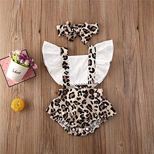 Pagliaccetto Neonata Leopardato Body Bambina