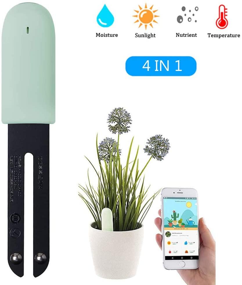 Smart Monitor Piante: Monitora I Livelli Di Umidità/Luce/fertilità/Temperatura