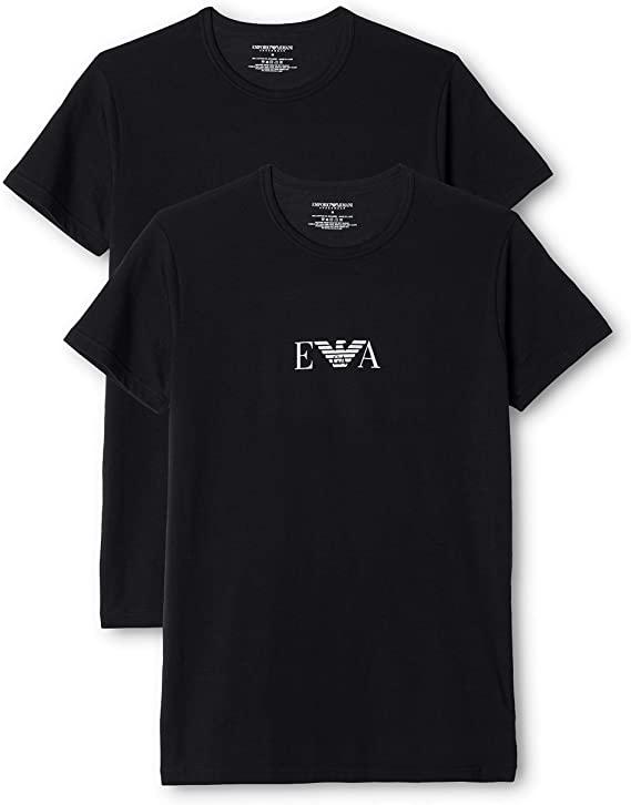 Emporio Armani, T-Shirt Uomo, Set Da 2 Pezzi
