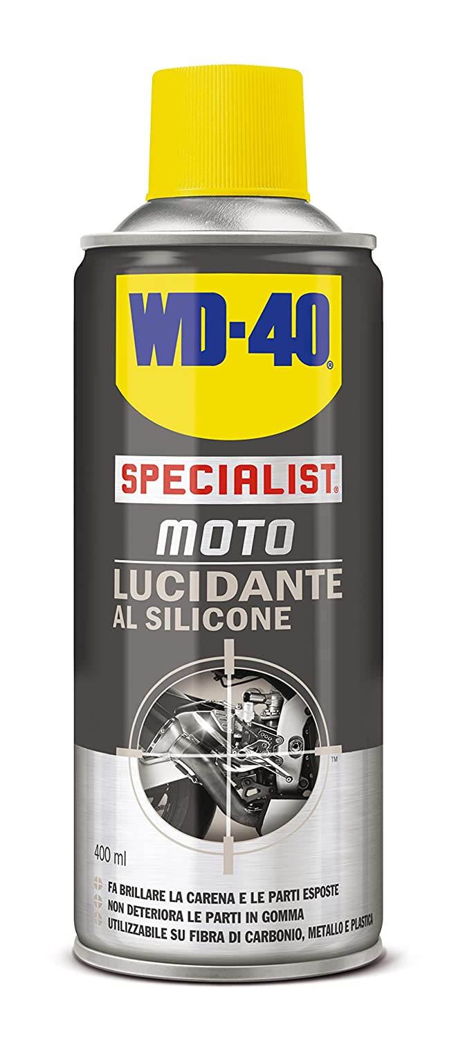 Lucidante Al Silicone Spray Moto – 400 Ml