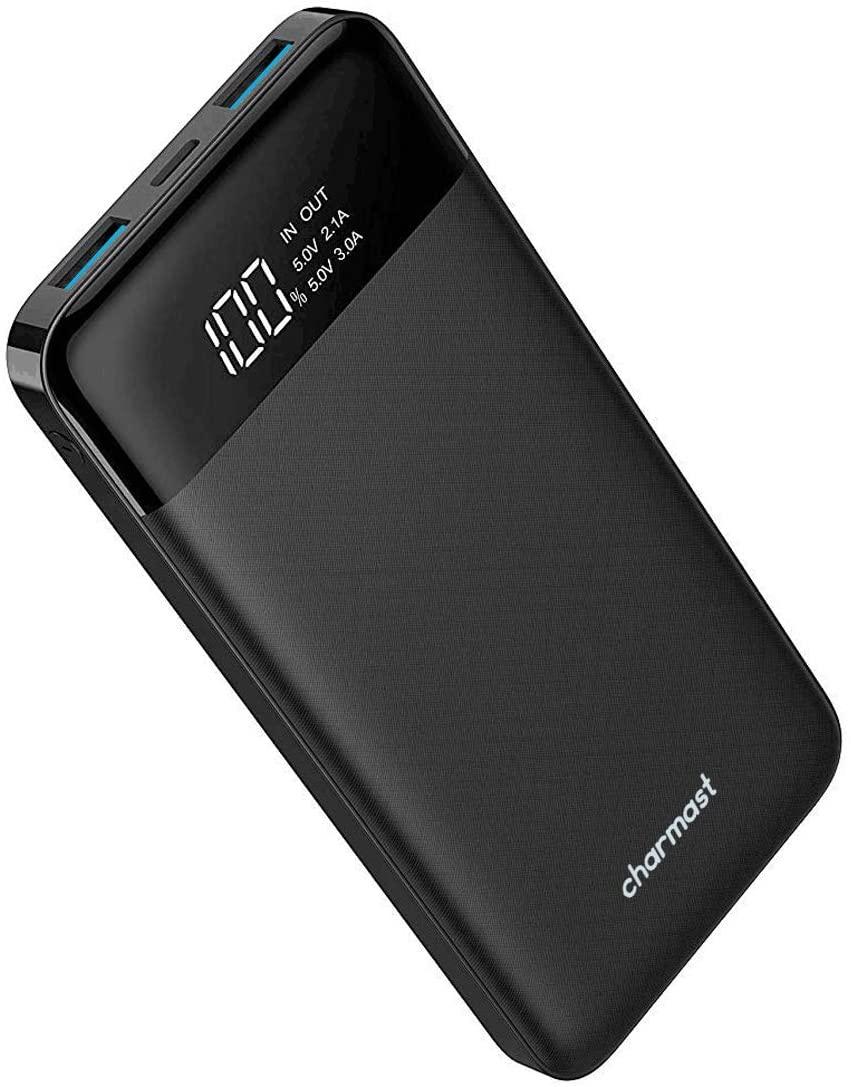 Powerbank 10400mAh, USB C Caricabatterie Portatile