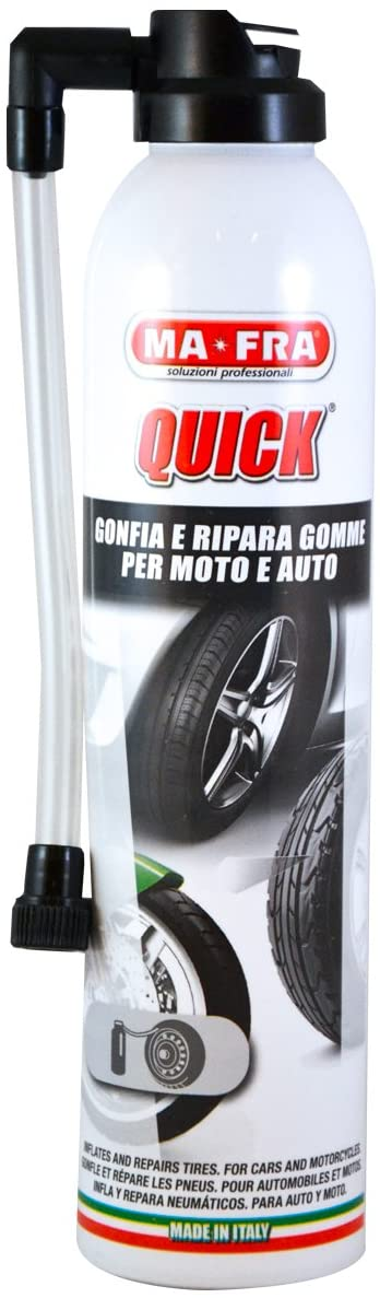 Gonfia E Ripara Le Gomme Forate Di Auto E Moto, Adatto A Pneumatici Con E Senza Camera D'Aria