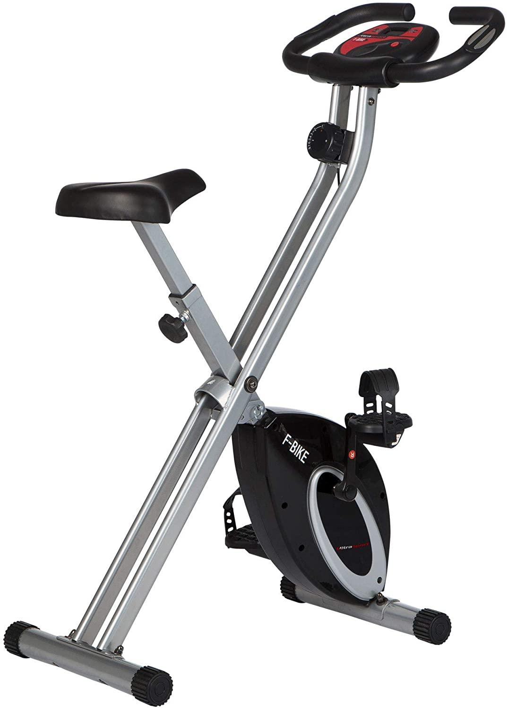 Cyclette Con Portabevande, Display LCD, Sensori Delle Pulsazioni