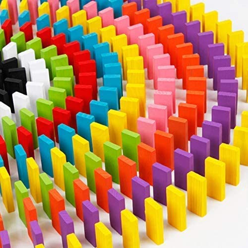 Set Da 240 Pezzi Domino In Legno