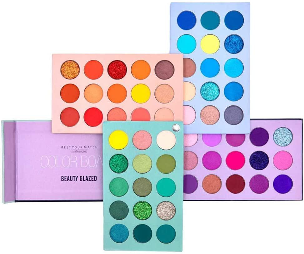 Tavolozza Ombretti 60 Colori