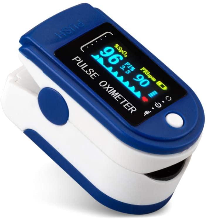 Pulsi Ossimetro Da Dito,sensore Digitale Di Ossigeno Nel Sangue E Pulsazioni