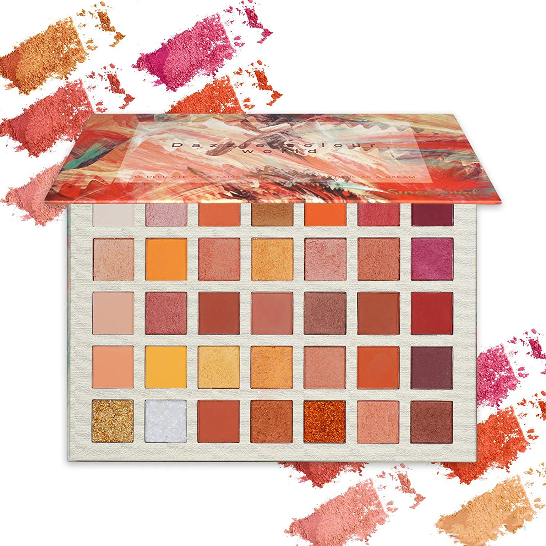Palette Di Ombretti Shimmer Face Makeup Kit (35 Colori)