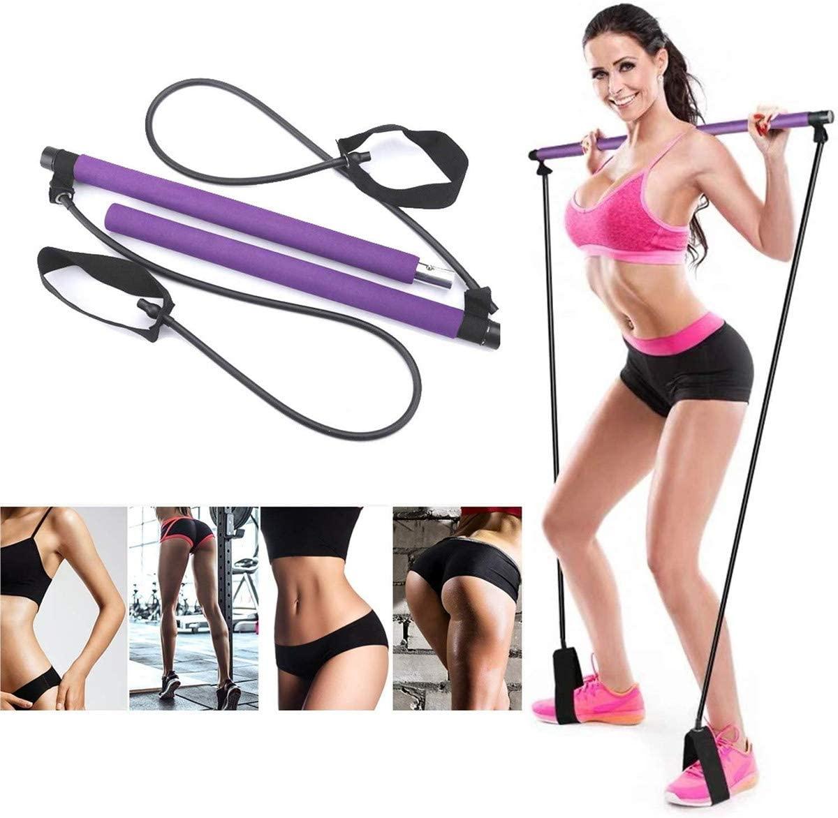 Bande Elastiche Resistenza Elastici Fitness Con 5 Livelli Di Resistenza