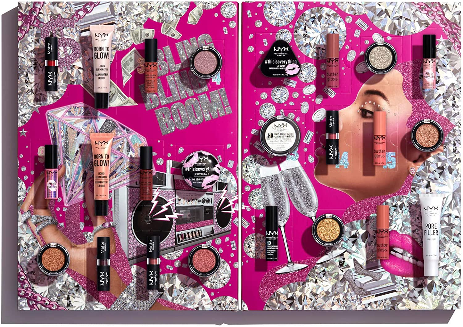NYX Calendario Dell'Avvento Makeup