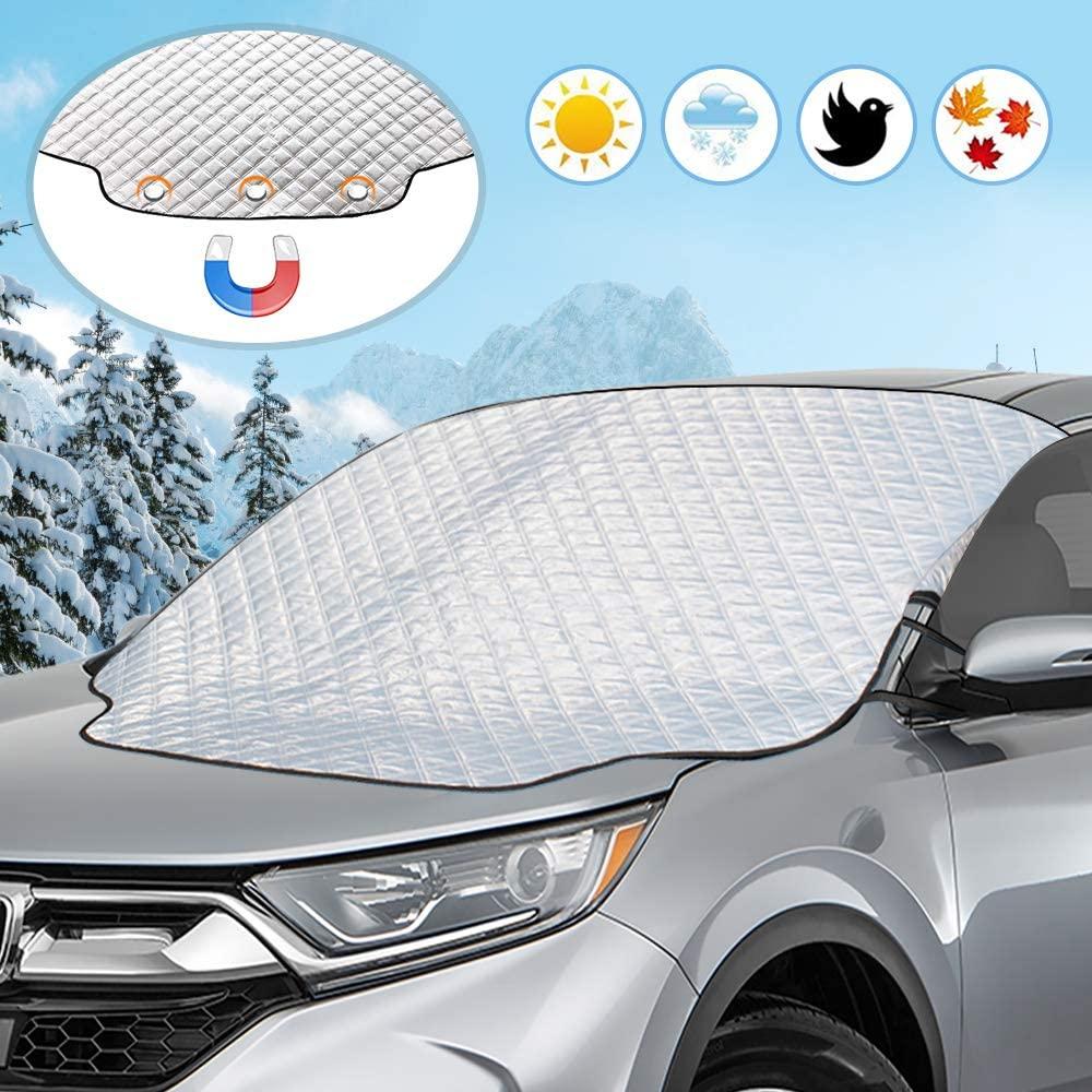Protezione Per Parabrezza Universale Contro Neve, Ghiaccio, Gelo E Raggi UV