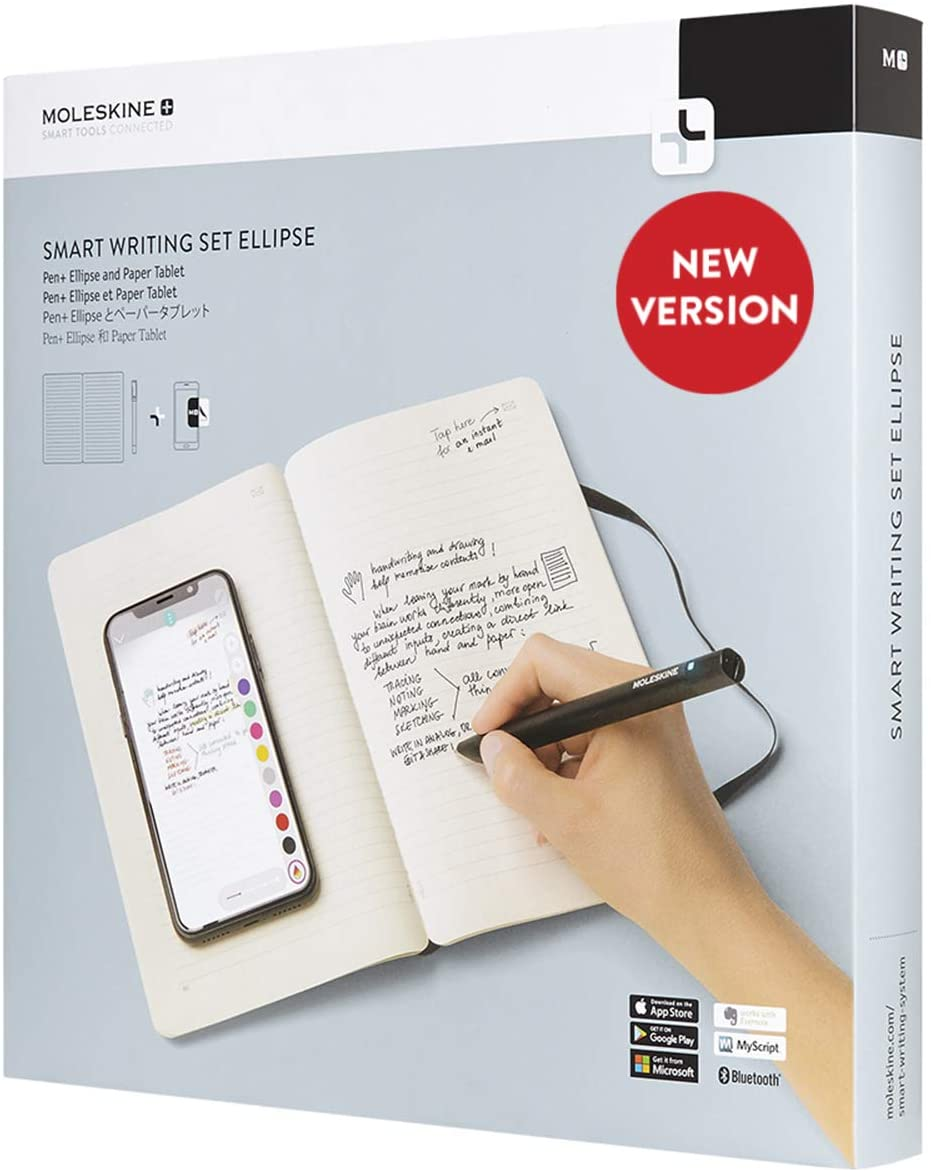 Moleskine Smart Writing Set Ellipse: Notebook E SmartPen