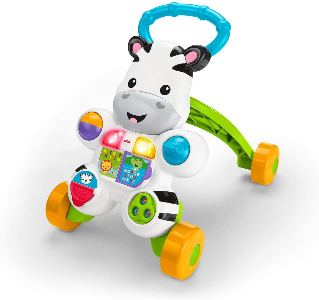 Fisher Price Zebra Primi Passi Gioco Spingibile