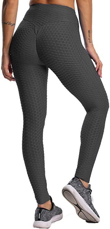 Leggings  Push Up Donna Sport Vita Alta Per Yoga Palestra Fitness
