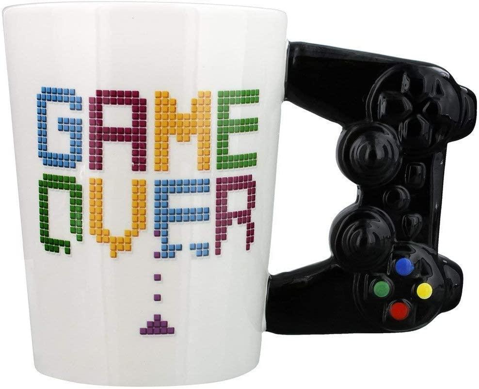 "Tazza Playstation ""Gioco Over Game"" Controller Maniglia Mug"