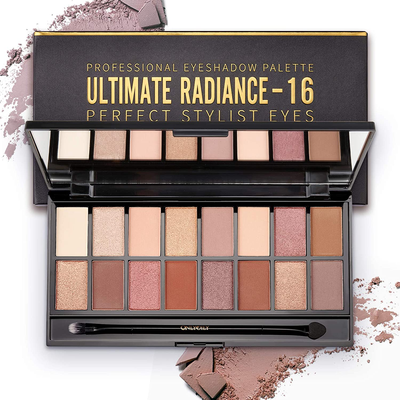 Impermeabile Makeup Palette Professional – Kit (16 Colori)