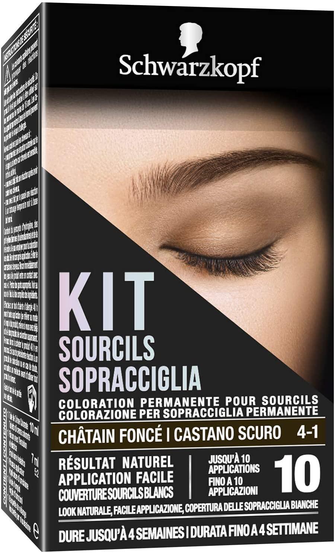 Schwarzkopf Kit Sopracciglia, Colorazione Permanente Per Sopracciglia