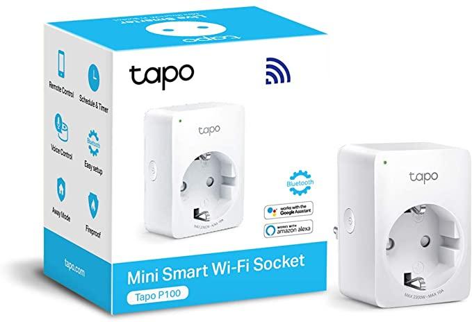 Presa Smart WiFi Smart Plug, Controllo Remoto Tramite APP, 10A, 2300W