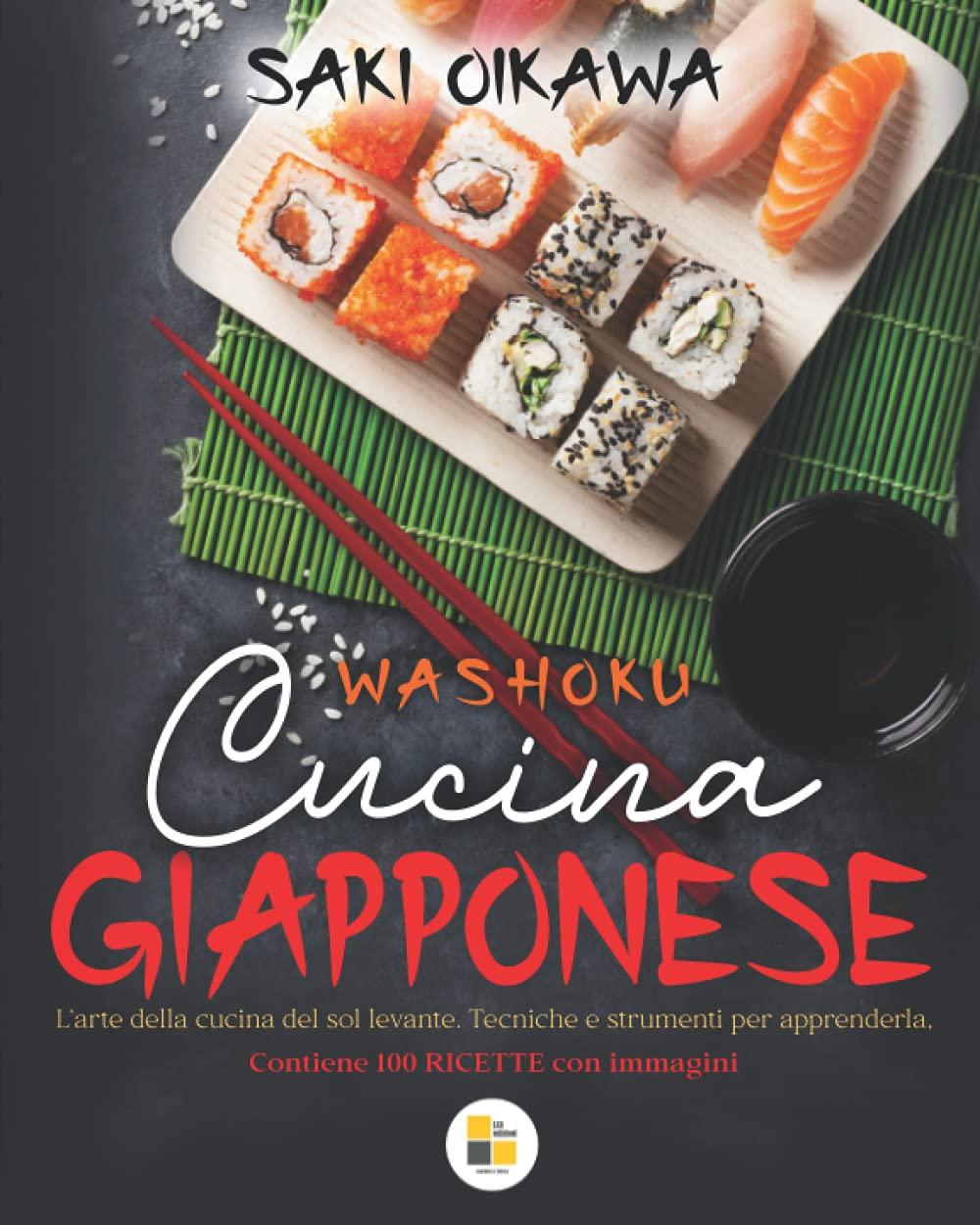 Libro Ricette Cucina GIAPPONESE: WASHOKU.